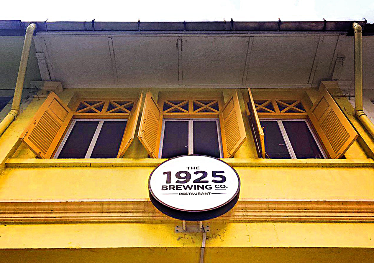 The 1925 Brewing Co. Restaurant is open during the CNY holidays!